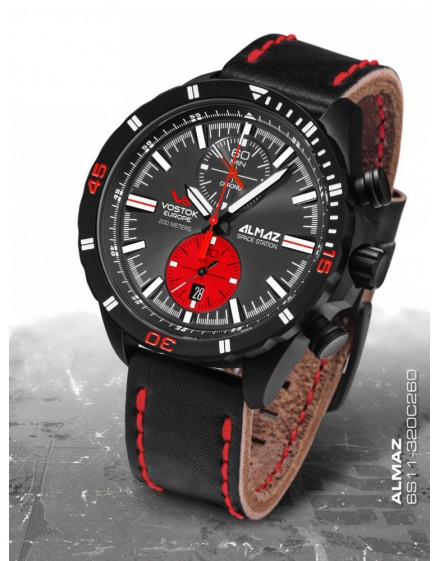 Reloj Vostok Europe Almaz Chrono 320C260
