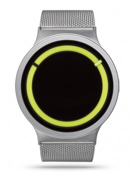 Reloj Ziiiro Eclipse Metallic Chrome Lemon Z0012WSY