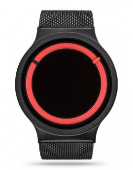 Reloj Ziiiro Eclipse Metallic Black Red Z0012WBR