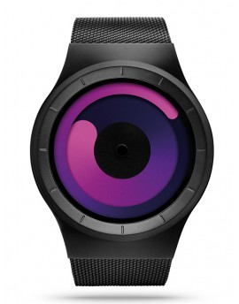 Reloj Ziiiro Mercury Black Purple Z0002WB3