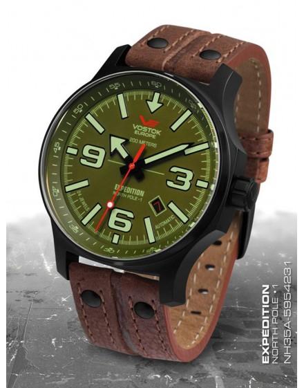 Reloj Vostok Europe Expedition North Pole 2 Automatic Piel 5954231