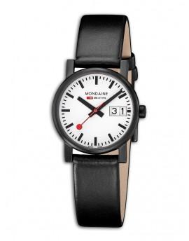 Reloj Mondaine SBB Evo Big Date Ladies Black&White A669.30305.61SBB