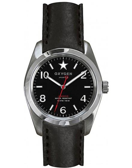 Reloj Oxygen Sport 34 Washington Piel EXS-WAS-34-CL-BL