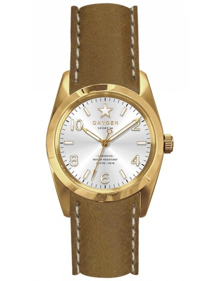 Reloj Oxygen Sport 34 Nugget Piel EX-S-NUG-34-CL-LB