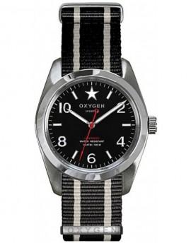 Reloj Oxygen Sport 38 Washington Textil EX-S-WAS-38-NN-BLIVBL
