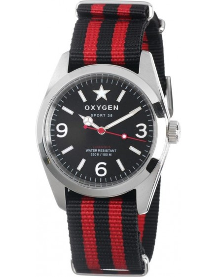 Reloj Oxygen Sport 38 Washington Textil EX-S-WAS-38-CL-BLIVRE