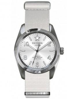 Reloj Oxygen Sport 38 Paris Textil EX-S-PAR-38-NN-WH