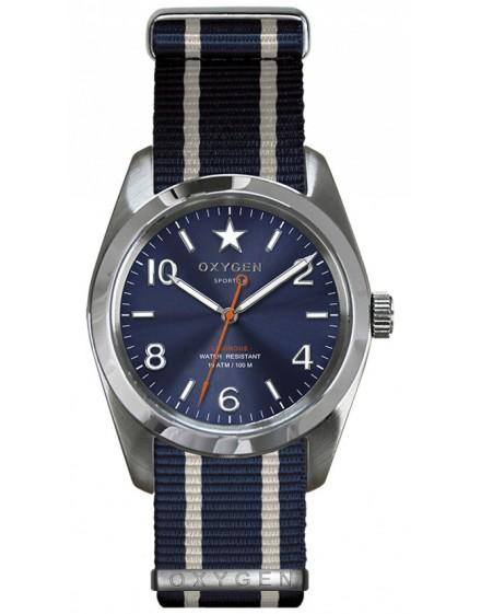 Reloj Oxygen Sport 38 Boston Textil EX-S-BOS-38-NN-NAIVNA