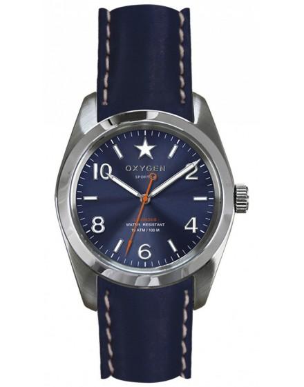 Reloj Oxygen Sport 38 Boston Piel EX-S-BOS-38-CL-NA