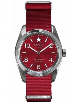 Reloj Oxygen Sport 38 Ruby Textil EX-S-RUB-38-NN-RE