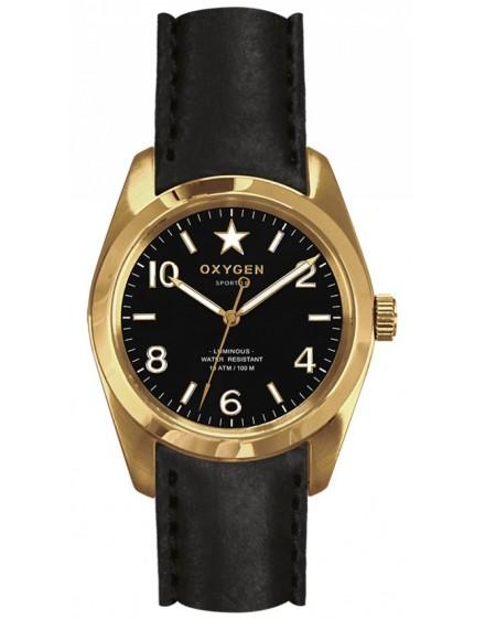 Reloj Oxygen Sport 38 Lingot Piel EX-S-LIN-38-CL-BL