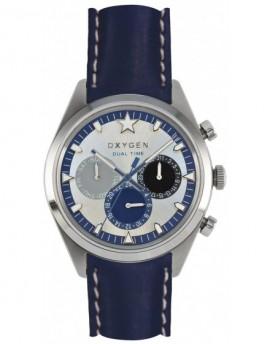 Reloj Oxygen Sport DT 40 Pacific Piel EX-SDT-PAC-40-CL-NA