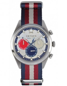 Reloj Oxygen Sport DT 40 Long Island Textil EX-SDT-LON-40-NN-NAREIV