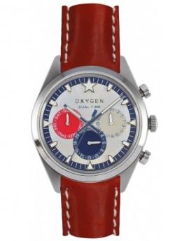 Reloj Oxygen Sport DT 40 Long Island Piel EX-SDT-LON-40-CL-RE