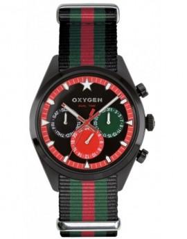 Reloj Oxygen Sport DT 40 Roma Textil EX-SDT-ROM-40-NN-BLGNRE