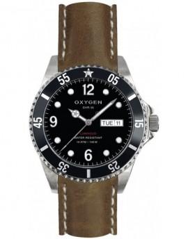 Reloj Oxygen Diver 36 Moby Dick Piel EX-D-MOB-36-CL-DB