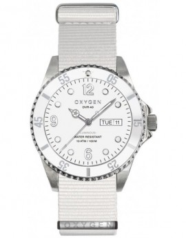 Reloj Oxygen Diver 36 White Bear Textil EX-D-WHI-36-NN-WH