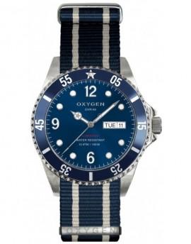 Reloj Oxygen Diver 40 Atlantic Textil EX-D-ATL-40-NN-NAIVNA