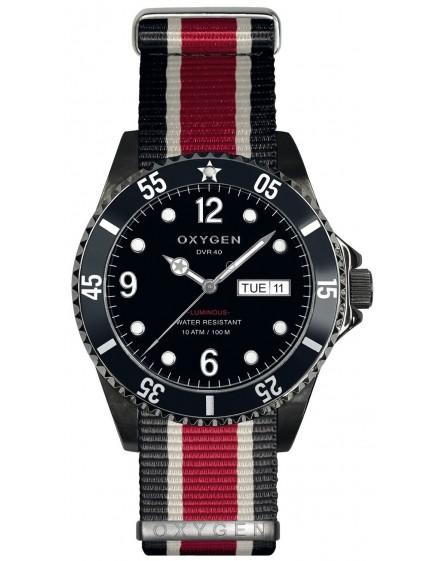 Reloj Oxygen Diver 40 Moby Dick Black Textil EX-D-MBB-40-NN-BLIVRE