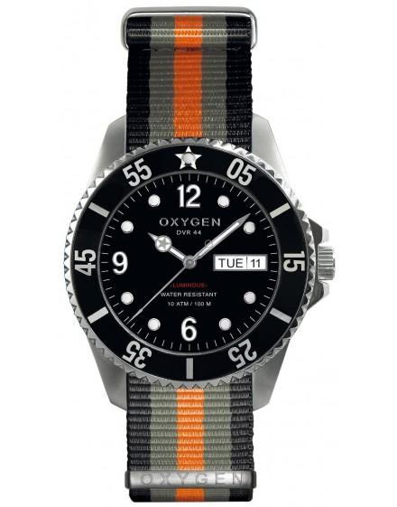 Reloj Oxygen Diver 44 Moby Dick Textil EX-D-MOB-44-NN-BLGROR