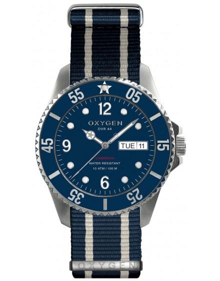 Reloj Oxygen Diver 44 Admiral Textil EX-D-ADM-44-NN-NAIVNA