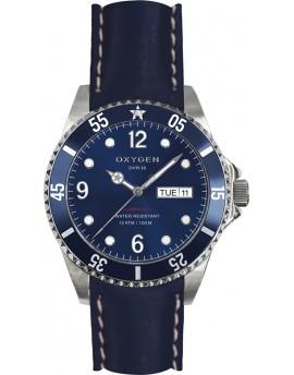 Reloj Oxygen Diver 36 Atlantic Piel EX-D-ATL-36-CL-NA