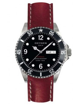 Reloj Oxygen Diver 36 Moby Dick Piel EX-D-MOB-36-CL-RE