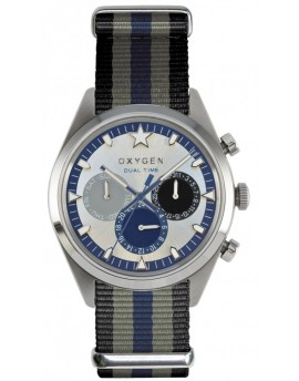 Reloj Oxygen Sport DT 40 Pacific Textil EX-SDT-PAC-40-NN-BLGRNA