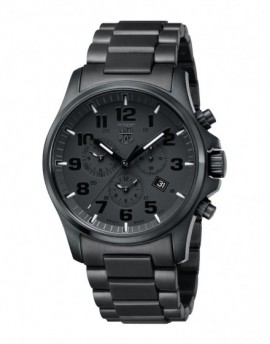 Reloj Luminox Atacama Chrono Alarm Black Out LX1942.BOB