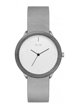 Reloj de madera MAM Originals STAINLESS Light Maple Graphite