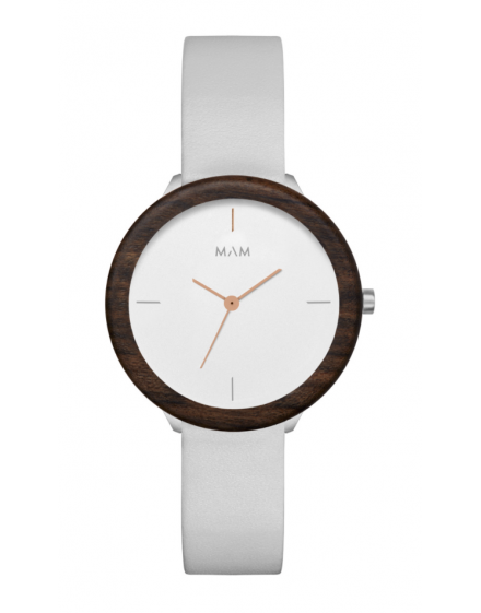 Reloj MAM Originals STAINLESS Light Teak Grey