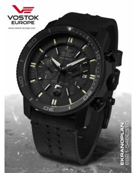 Vostok Europe Ekranoplan Titanium Chronograph 6S21-546C510
