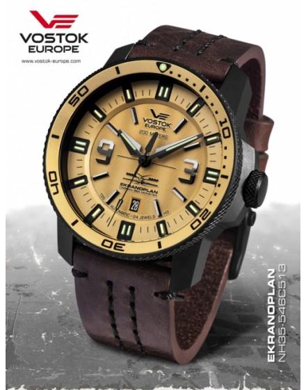 Vostok Europe Ekranoplan Titanium Chronograph NH35A-546C513