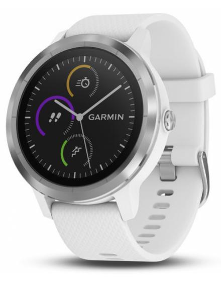 Garmin Vívoactive® 3 Blanco con Stainless Hardware