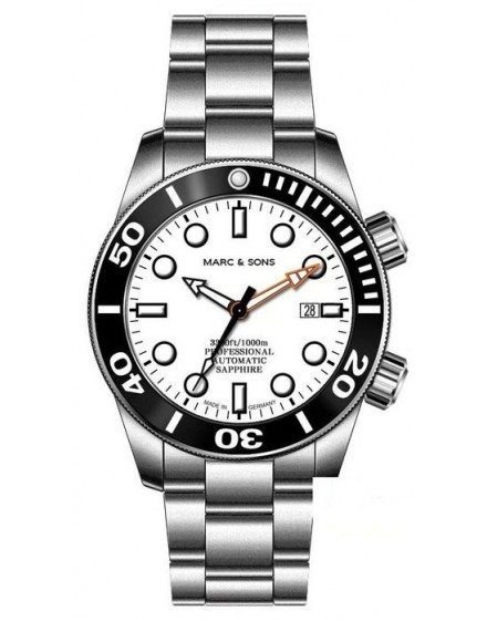 MARC & SONS Diver Watch Series Professional MSD-028-12S