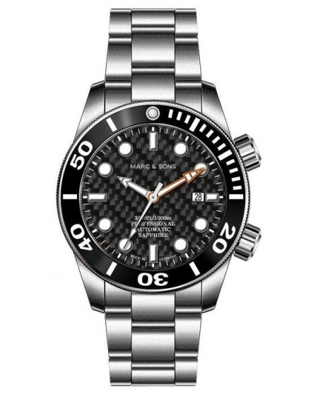 MARC & SONS Diver Watch Series Professional MSD-028-15S