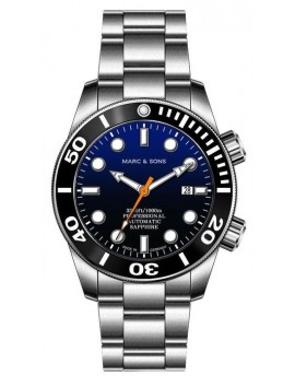 MARC & SONS Diver Watch Professional Mod BGW9 MSD-028-10S