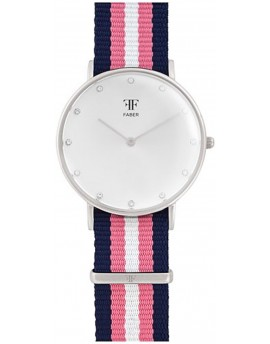 Faber Time Woman BuckleClasp Watch F406SL