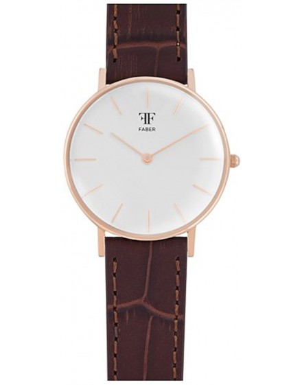 Faber Time Woman BuckleClasp Watch F112RG