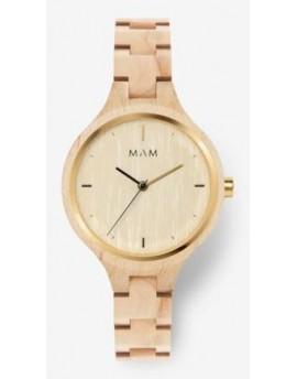 Reloj de madera MAM Originals Silt 606