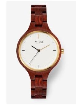 Reloj de madera MAM Originals Silt 608