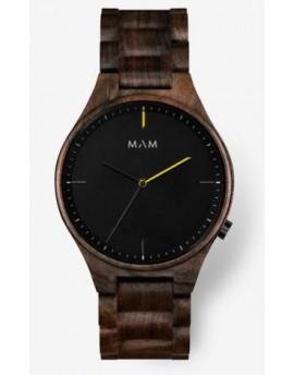 Reloj de madera MAM Originals Volcano 611