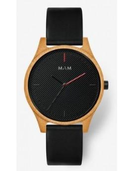 Reloj de madera MAM Originals Areno 615