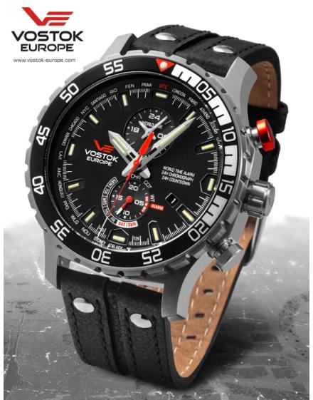 Reloj Vostok Europe Expedition Everest Underground YM8J/597A549