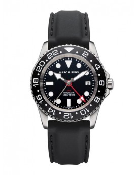 MARC & SONS Diver Watch Automatic GMT ETA 2893-2 MSG-007-3-K3