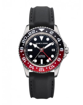MARC & SONS Diver Watch Automatic GMT ETA 2893-2 MSG-007-5-K3