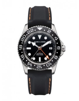 MARC & SONS Diver Watch Automatic GMT ETA 2893-2 MSG-007-6-LS-K7