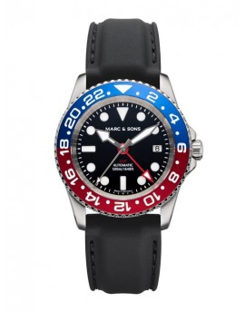 MARC & SONS Diver Watch Automatic GMT ETA 2893-2 MSG-007-7-K3