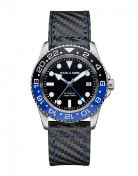 MARC & SONS Diver Watch Automatic GMT ETA 2893-2 MSG-007-1-C3
