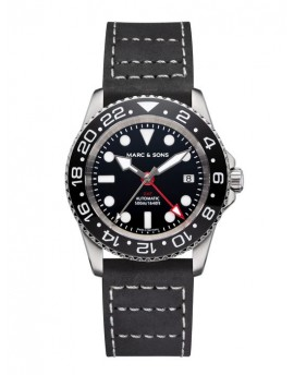 MARC & SONS Diver Watch Automatic GMT ETA 2893-2 MSG-007-3-L3